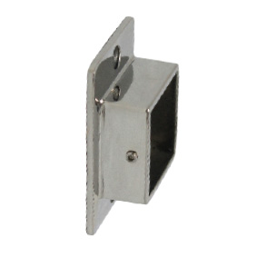 Modular 40mm Square - WALL PLATE - SS316