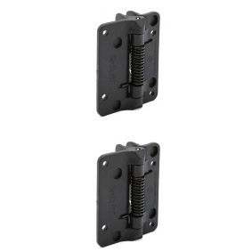 D&D Kwik Fit – HINGE SET – Fixed Tension – Pair of 2 (with chamfered edge)
