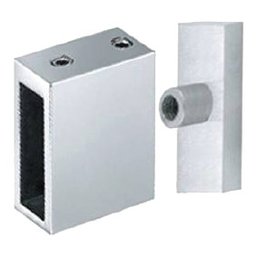 STAL – 90 DEGREE JOINER BRACKET – SS304  POLISH (Attaches Rail to Return Panel) Sold separately