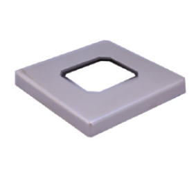 MADRID – SS2205 SQUARE SLIMLINE Domical Cover for Base Plate