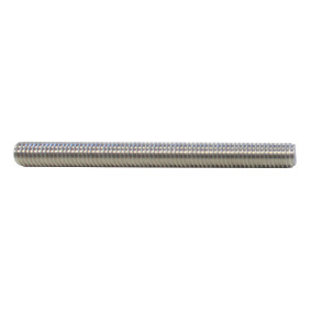 M10 x 100mm long SS316 THREADED ROD (suits Glass Vice)