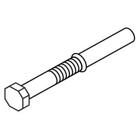 FISCHER BOLT - M10 x 60mm - SS316 HEX Head