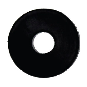WASHER – 50mm DIAMETER (black nylon)