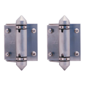 Master Range – Face Mount HINGE SET – Pair of 2 – SS316