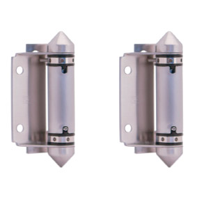 Master Range – Glass to Round Post HINGE SET – Pair of 2 – SS316
