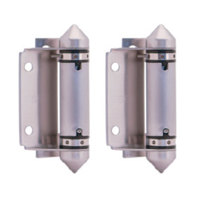 Master Range – Glass to Square Post/Wall HINGE SET – Pair of 2 – SS316