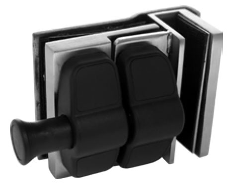 Glass to Glass External 90° Corner Latch Kit