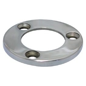 Modular 50mm Round – BASE PLATE – SS316 POLISH