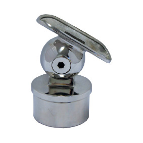 Modular 50mm Round – Rail Support Ball Joiner – Swivel Curved Saddle
