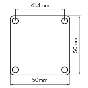 Australis 50mm Series – HEIGHT ADJUST ALUMINIUM PACKER – 1mm thick