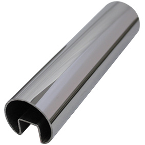 Summit Top Glaze - CHS 38mm Dia - 5800mm - ROUND HANDRAIL SS316L POLISH