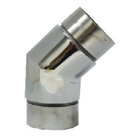Modular 50mm Round - 135 DEGREE JOINER - SS316