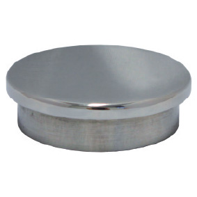 HEAVY DUTY – Modular 50mm Round – TOP CAP – SS316 POLISH
