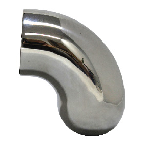Modular 50mm Round – HANDRAIL END CURVED – SS316 POLISH (curves around 180 degrees)