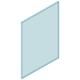 10mm Clear TGH HEAT SOAKED Glass – Balustrade – 680mmW x 950mmH