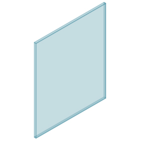 10mm Clear TGH HEAT SOAKED Glass – Balustrade – 780mmW x 950mmH