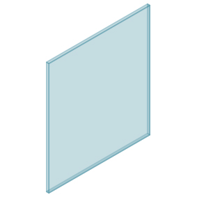 10mm Clear TGH HEAT SOAKED Glass – Balustrade – 830mmW x 950mmH
