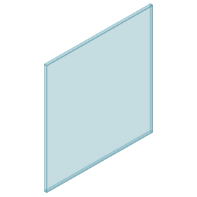 10mm Clear TGH HEAT SOAKED Glass – Balustrade – 880mmW x 950mmH