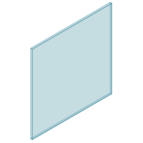 10mm Clear TGH HEAT SOAKED Glass – Balustrade – 930mmW x 950mmH