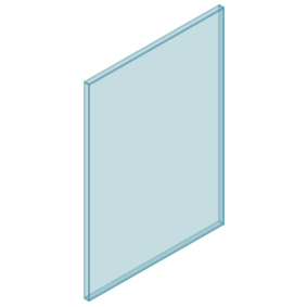 10mm Clear TGH HEAT SOAKED Glass – Balustrade – 580mmW x 850mmH