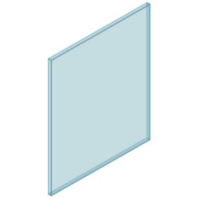 10mm Clear TGH HEAT SOAKED Glass – Balustrade – 680mmW x 850mmH