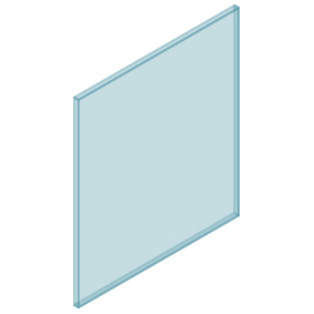 10mm Clear TGH HEAT SOAKED Glass – Balustrade – 780mmW x 850mmH