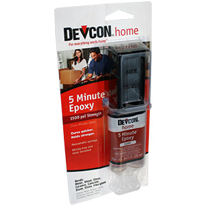 Devcon – 5 Minute 2 part Clear Epoxy – 25ml