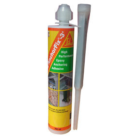 Sika AnchorFix 3 Plus –  2 part high performance epoxy anchoring adhesive