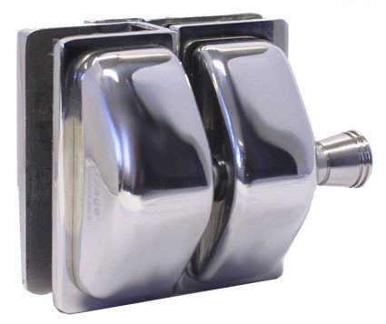 Master Range Glass to Glass Full Stainless Pull Latch in Satin or Polish