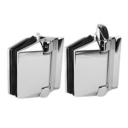 Polaris 120 Series Glass To Round Post Hinge Set