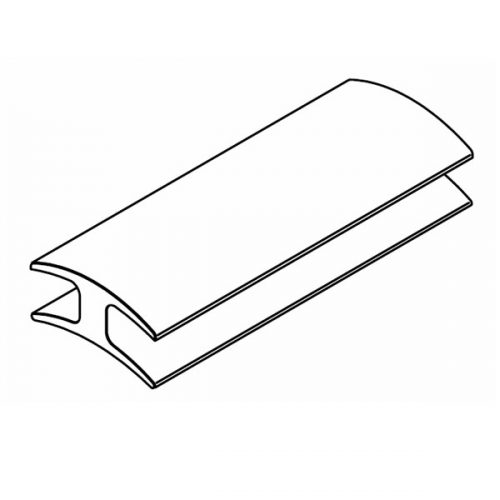 Versatilt adjustable glazing channel top infill