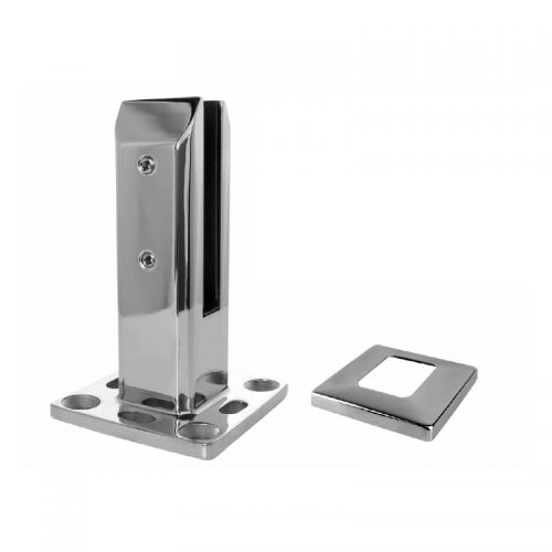 Lifestyle square range SS2205 Base plated spigot DOUBLE FRICTION