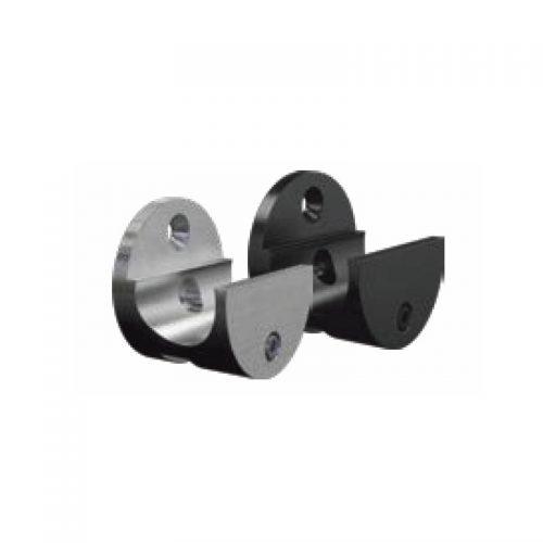 Wall mount rail clamp