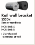 NORSK Rail Wall Bracket