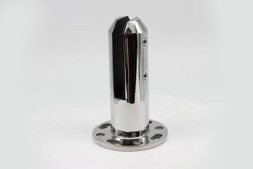 Round base plated spigot with cover plate
